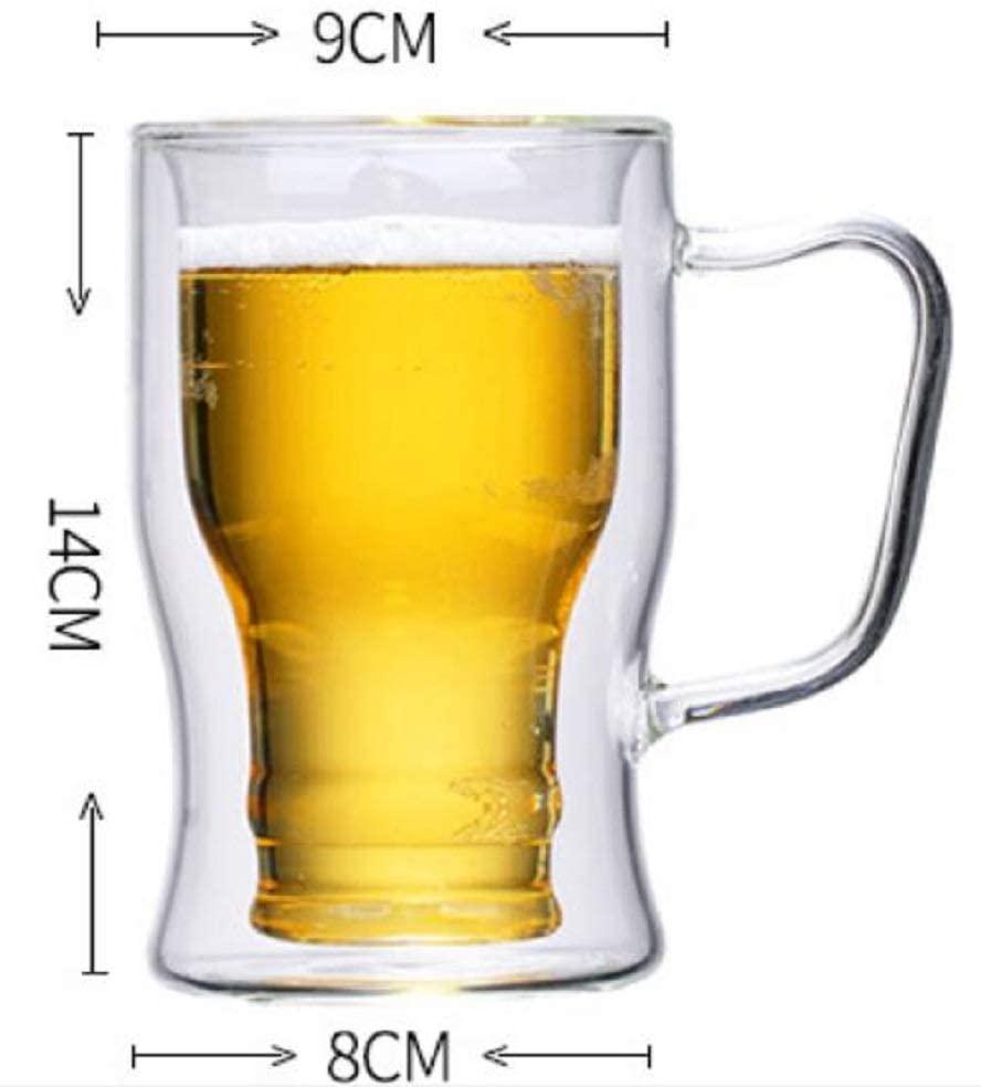 morningplace(モーニングプレイス) ビール ジョッキ  (350ml&550ml 2個セット)の商品画像6