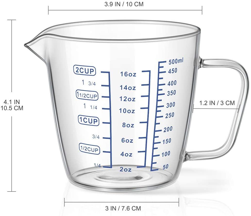 OUNONA メジャーカップ 500mlの商品画像4