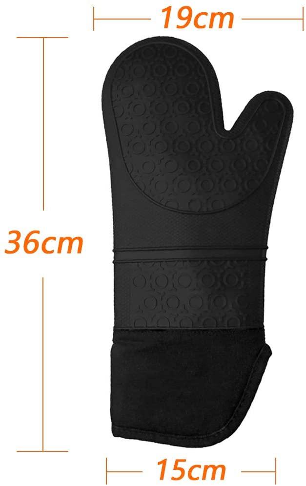 MKUTO(エムケーユーティオー) 耐熱ミトン ブラックの商品画像6