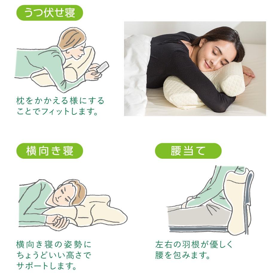 昭和西川(Nishikawa) Silent sleep いびきと戦う枕の商品画像4