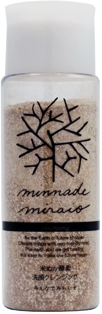 minnademiraio(ミンナデミライヲ) 100%無添加 米ぬか酵素洗顔クレンジング