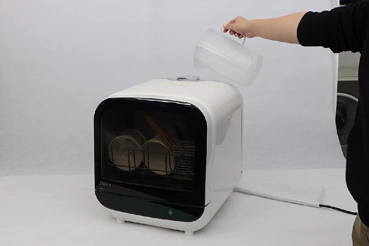 SK Japan(エスケイジャパン) ジェイム 食器洗い乾燥機 SDW-J5L(W)の商品画像4