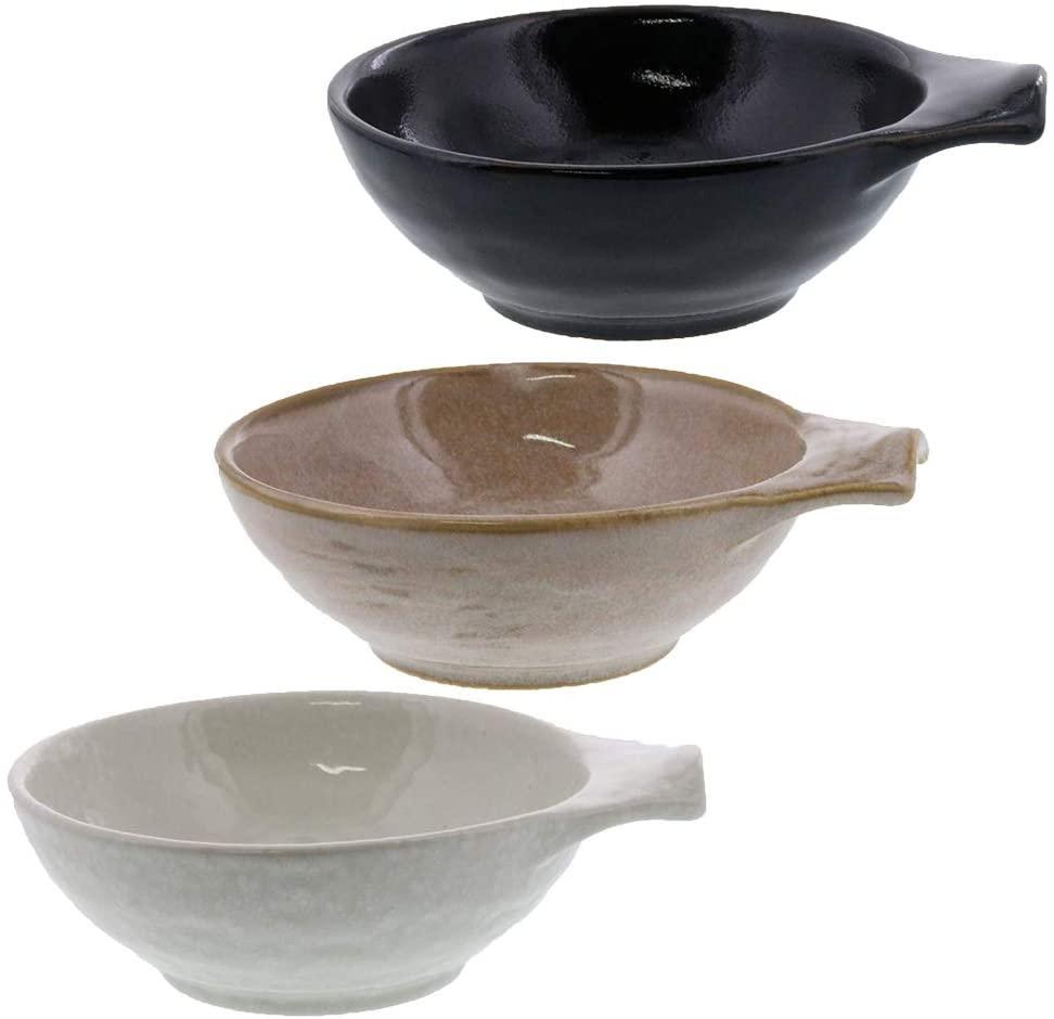 テーブルウェアイースト 美濃焼き呑水ボウル 3色セットの商品画像