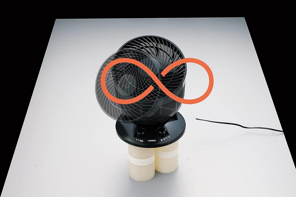 TWINBIRD(ツインバード) サーキュレーター 3D KJ-D997Bの商品画像3