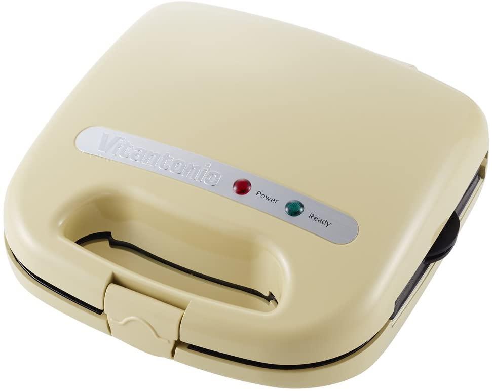 Vitantonio(ビタントニオ)ワッフル&ホットサンドベーカー スペシャルセット VWH-11-C クリームの商品画像
