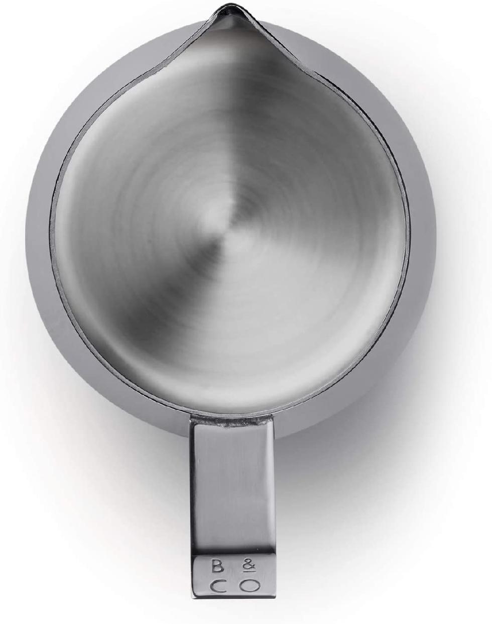 Barista&Co(バリスタアンドコー)Dial In Milk Pitcher 420ml Blackの商品画像5