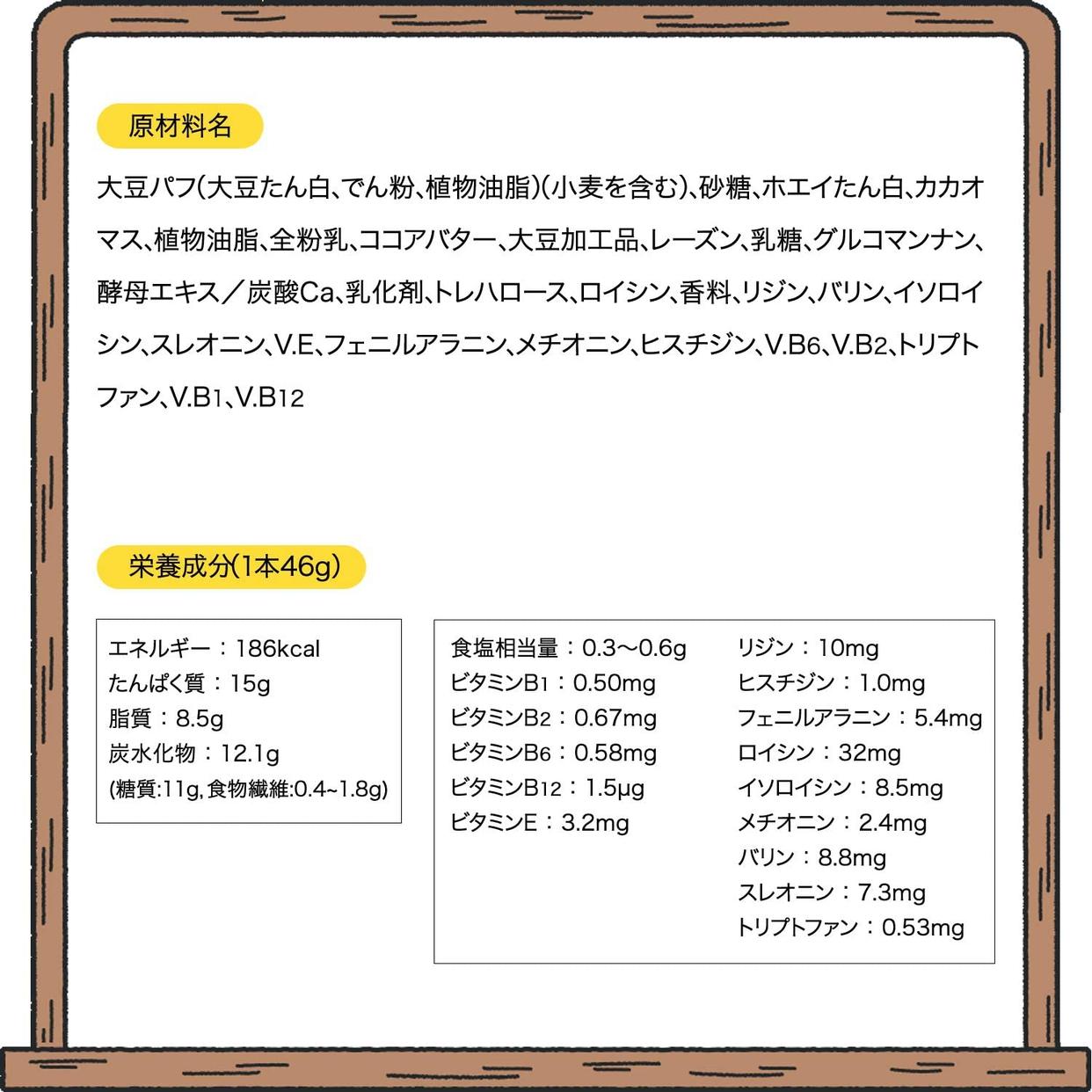Asahi(アサヒグループショクヒン) 1本満足バープロテインの商品画像5