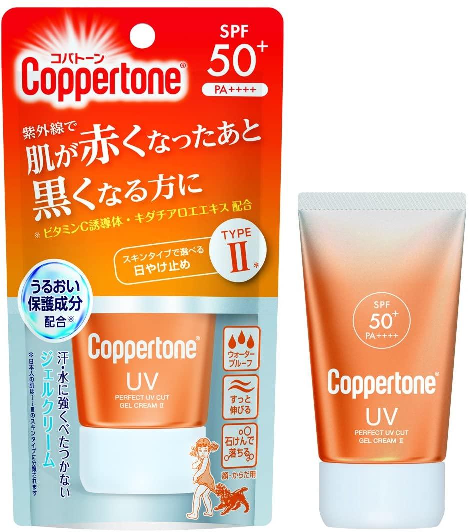 Coppertone(コパトーン)パーフェクトUVジェルクリーム Ⅱの商品画像