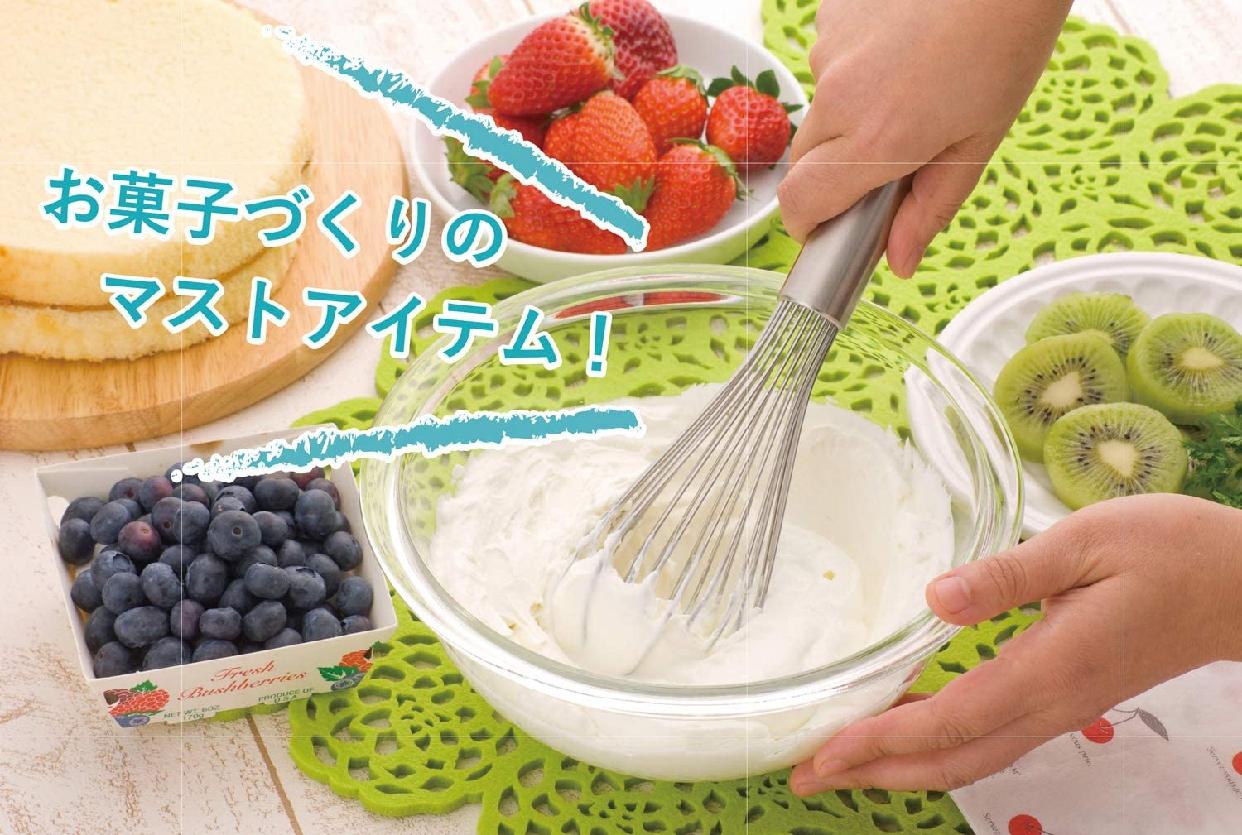 下村企販(シモムラキハン) ケーキ屋さんの泡立て名人 燕三条 27539 ステンレスの商品画像5