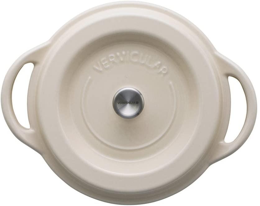 VERMICULAR(バーミキュラ) オーブンポットラウンド18cm ナチュラルベージュの商品画像2