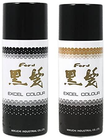 フォード ヘア エクセルカラースプレー黒髪の商品画像
