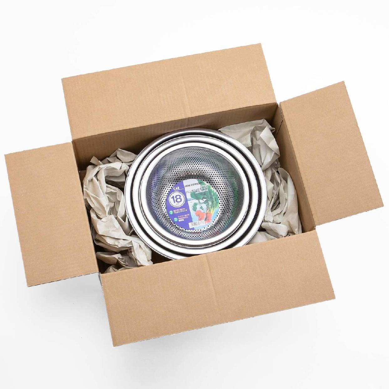 貝印(KAI) ボウル & パンチング ざる 6個 セットの商品画像8