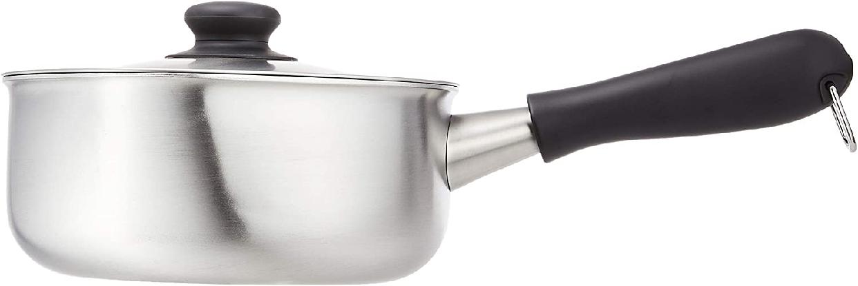 柳宗理(やなぎそうり)ステンレス・アルミ三層鋼 片手鍋18cm IH対応 つや消しの商品画像9