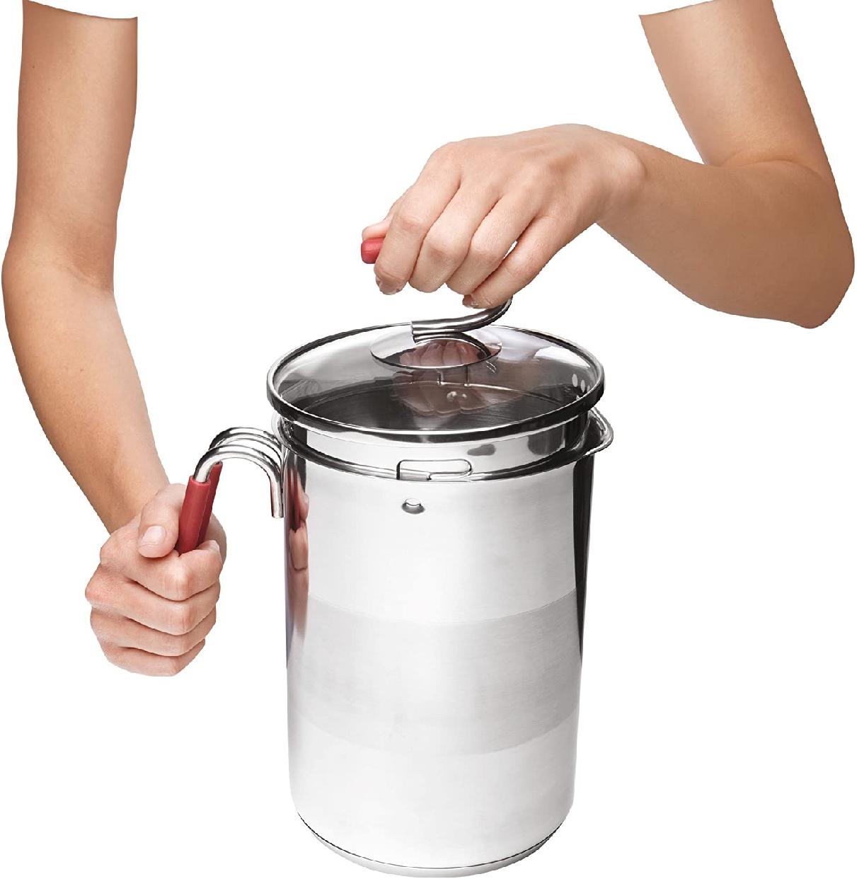 Kuhn Rikon(クーンリコン)4200 12-Cup 4th Burner Pot 赤の商品画像3