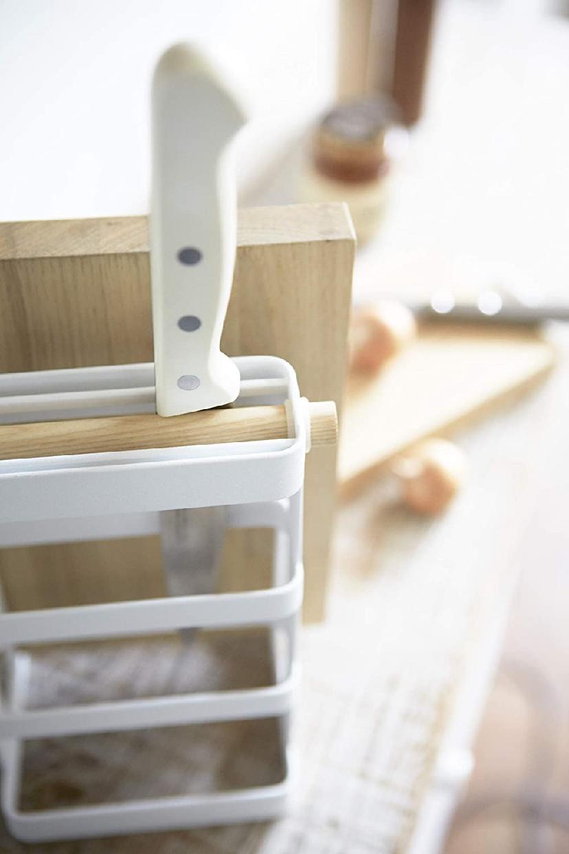 山崎実業(Yamazaki) 包丁&まな板スタンド トスカ 2421の商品画像7