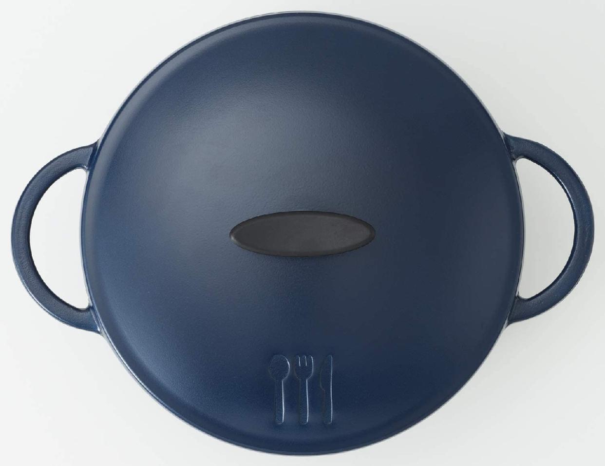 YOSHIKAWA(ヨシカワ) 栗原はるみ うまみ鍋 ネイビー 22cm HK11636の商品画像4