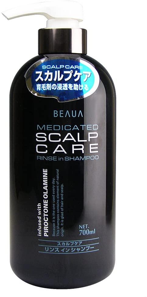 BEAUA(ビューア)薬用スカルプケアリンスインシャンプーの商品画像