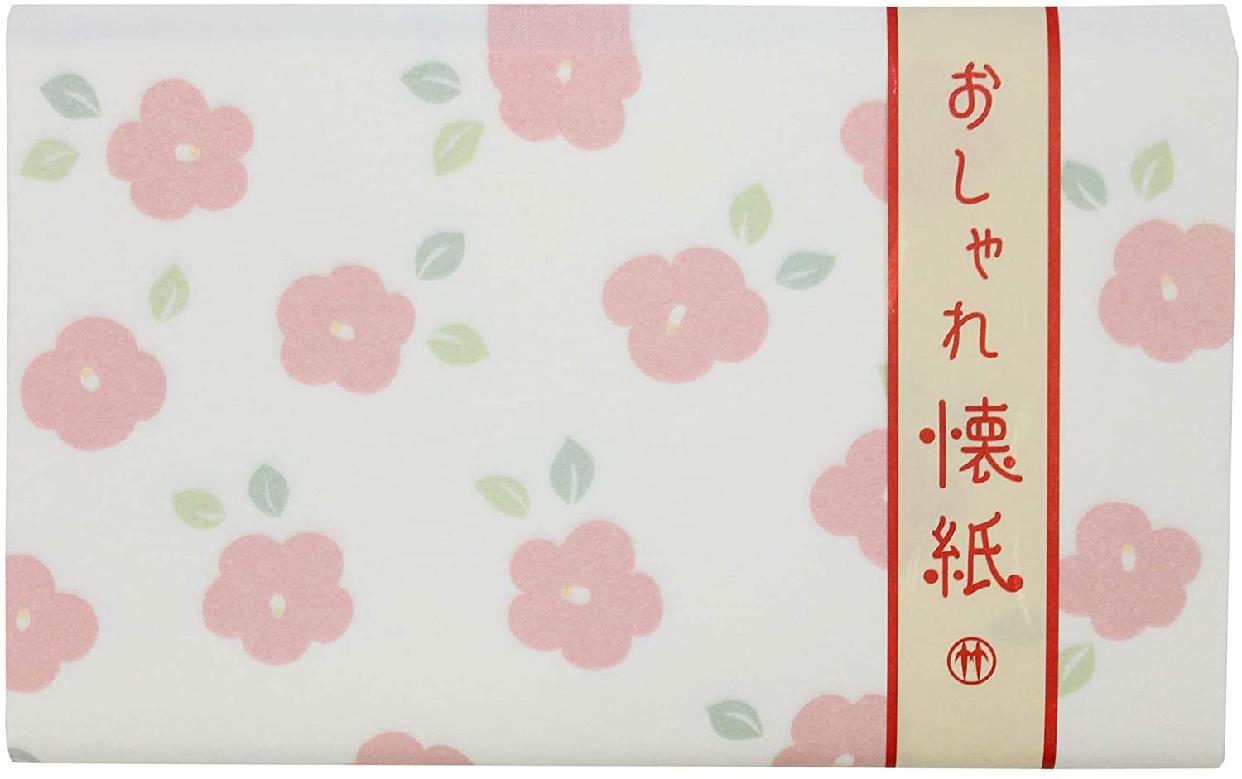 クロチク おしゃれ懐紙 椿 71306711 白の商品画像