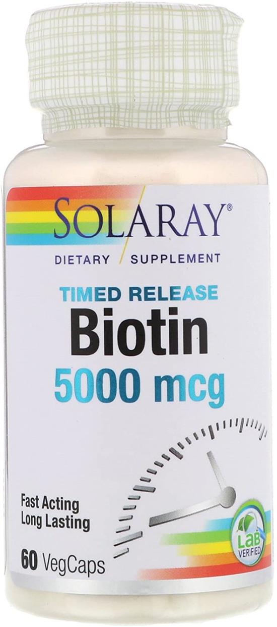 SOLARAY(ソラレー) ビオチンの商品画像