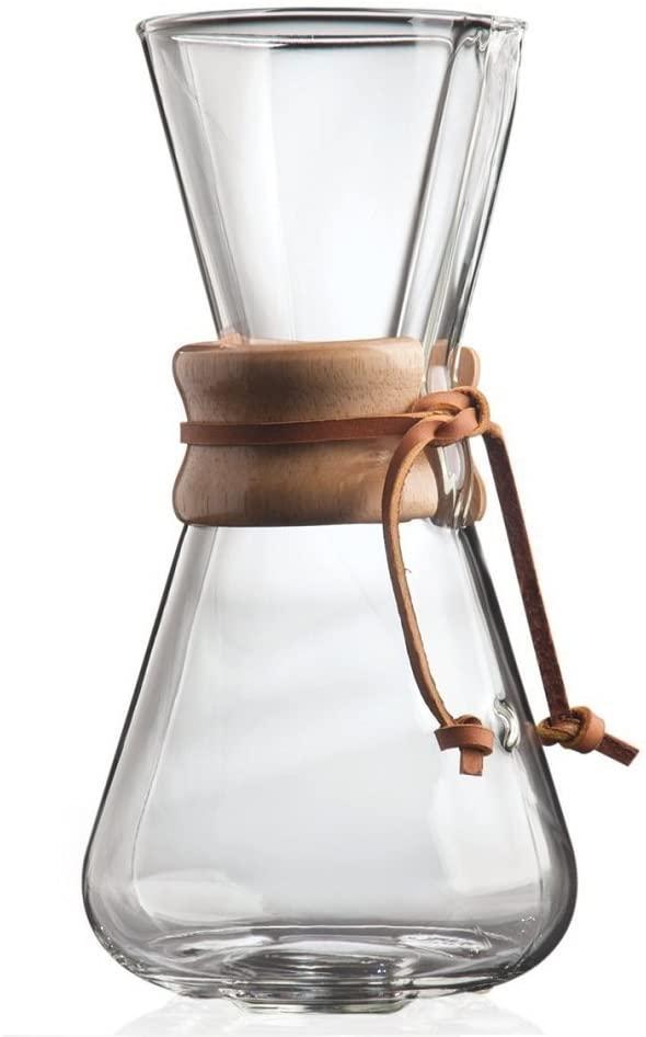 CHEMEX(ケメックス) コーヒーメーカー 3カップ CM-1クリアの商品画像2