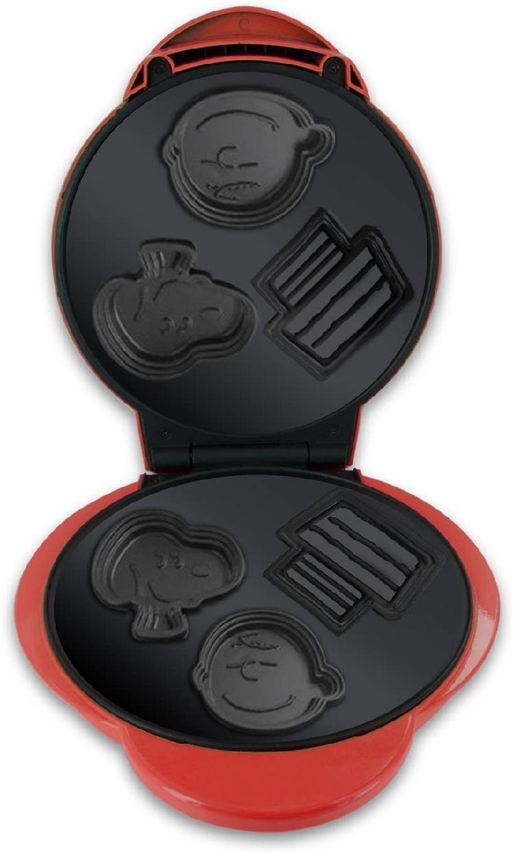 フロンティア物産(フロンティアブッサン) ワッフルメーカー スヌーピー&チャーリーブラウン WM-6S レッドの商品画像4