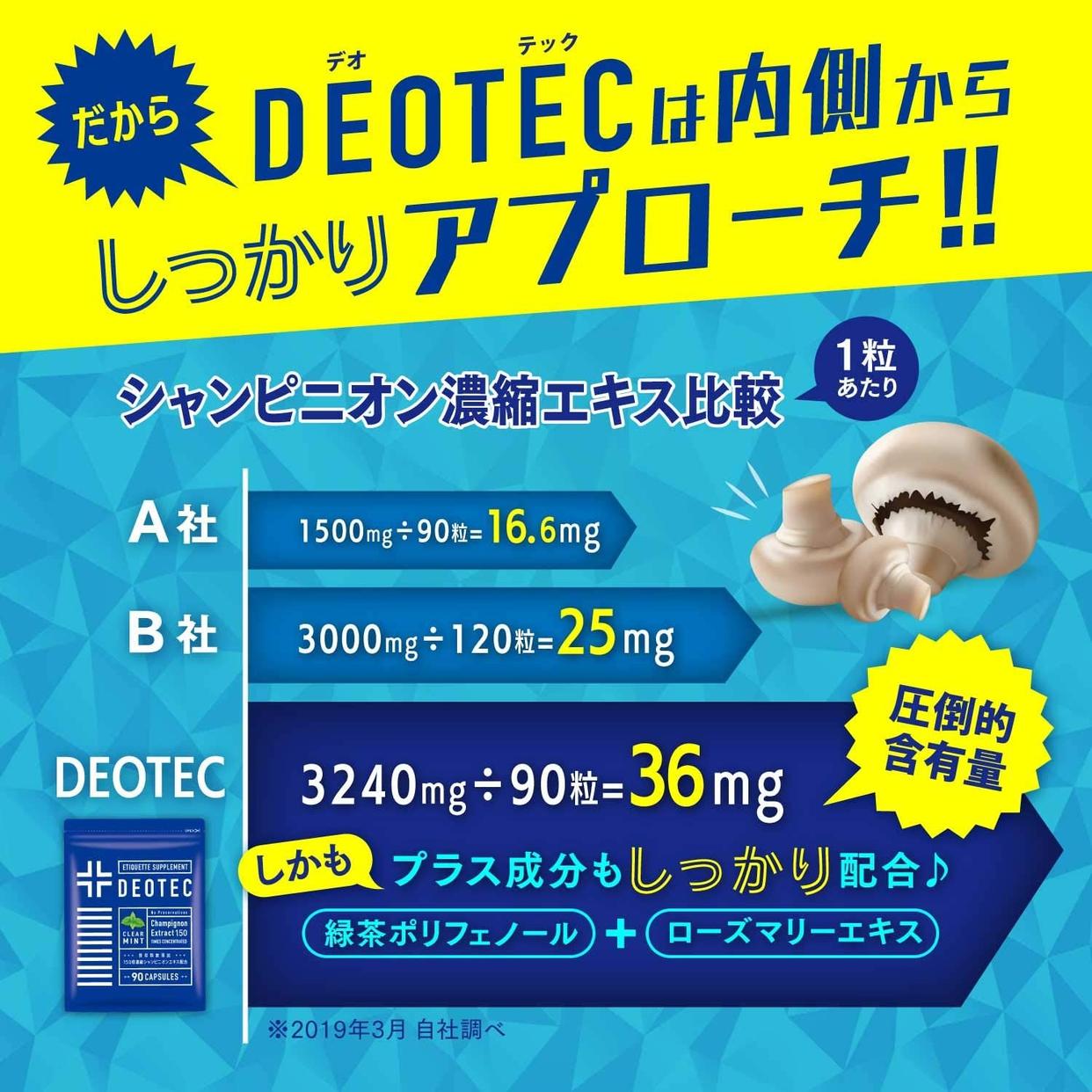 One Life Supplements(ワンライフサプリメント) DEOTECの商品画像4