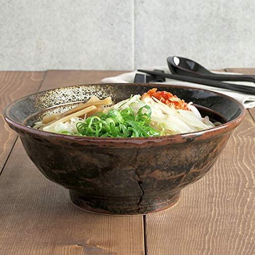 TABLE WARE EAST.(テーブルウェアイースト) 油滴結晶 石目 6.8寸ラーメン丼の商品画像2