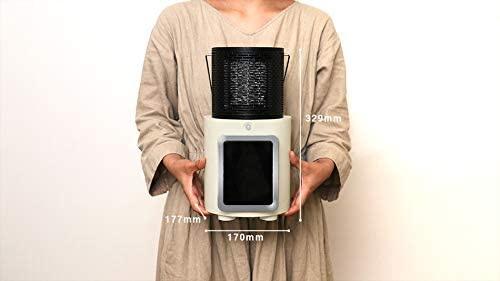 PRISMATE(プリズメイト) 人感センサー付 暖炉ヒーター PR-WA010の商品画像9