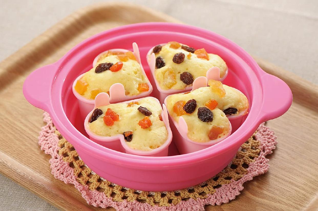 川﨑合成樹脂(KAWASAKI PLASTICS) シリコーン ハートスチームパンの商品画像3