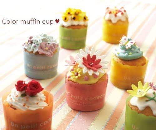 天満紙器(テンマシキ)カラー マフィンカップ M(ドット5色) 各20枚入 アソート CMAdotAS-100の商品画像2