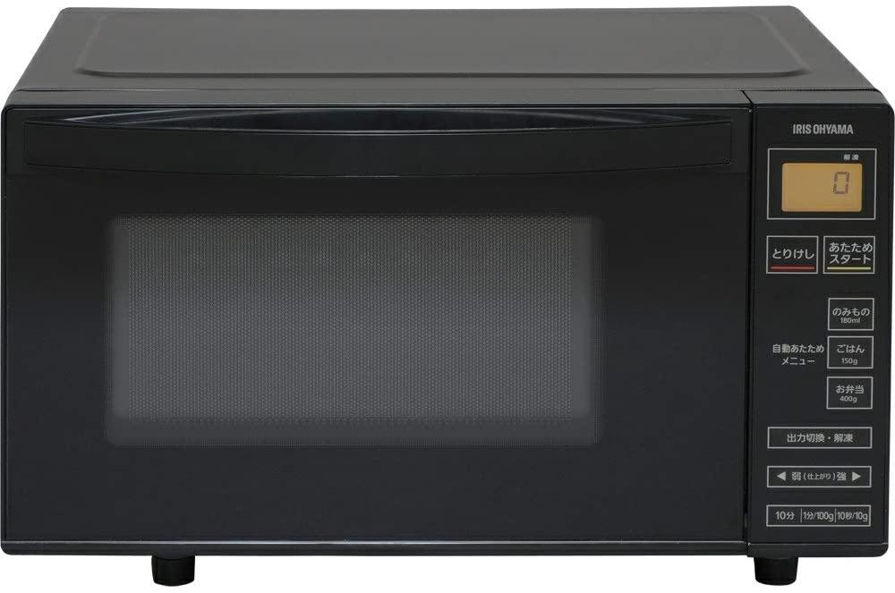 IRIS OHYAMA(アイリスオーヤマ) 電子レンジ 18L 縦開き扉 フラットテーブル  IMB-FV1801の商品画像