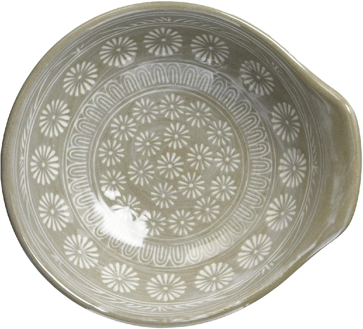 銀峯陶器 萬古焼 とんすい 花三島の商品画像4