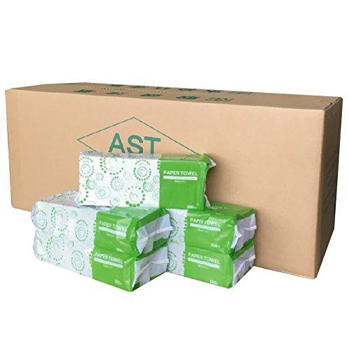 AST(アスト) ペーパータオル エコノミー 200枚×42パックの商品画像