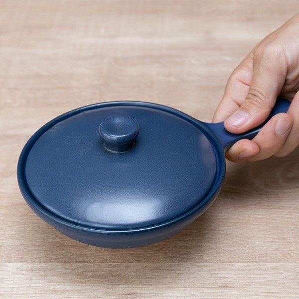 GRILLER(グリラー)蓋付きスキレット 21cm 美濃焼の商品画像10