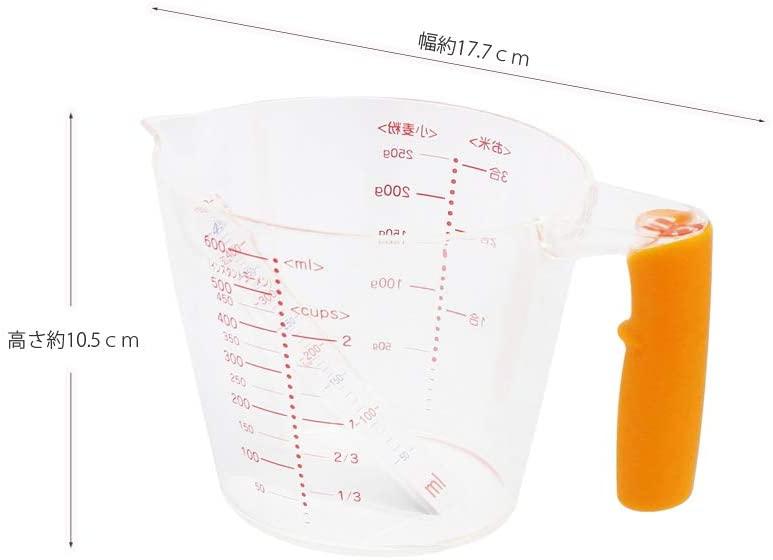 貝印(KAI) 見やすい計量カップ(600ml) DH7024の商品画像5