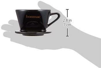 BONMAC(ボンマック) コーヒー ドリッパー メジャースプーン付き 1~2杯用 CD-1B ブラック #813002の商品画像4