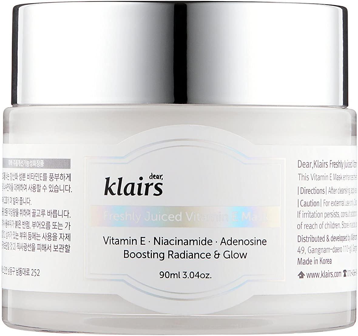 KLAIRS(クレアス) フレッシュリジューシドビタミンEマスク
