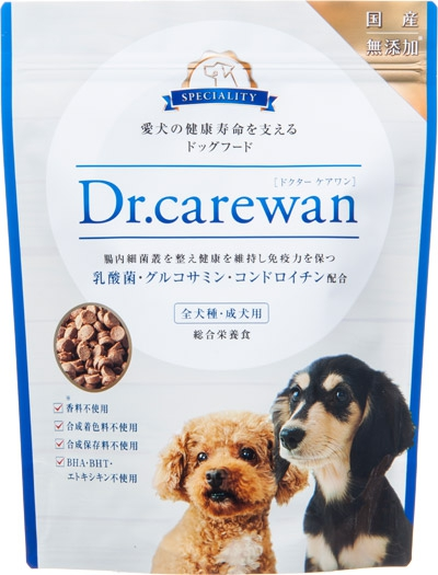 Dr.carewan(ドクターケアワン) 国産無添加ドッグフードの商品画像