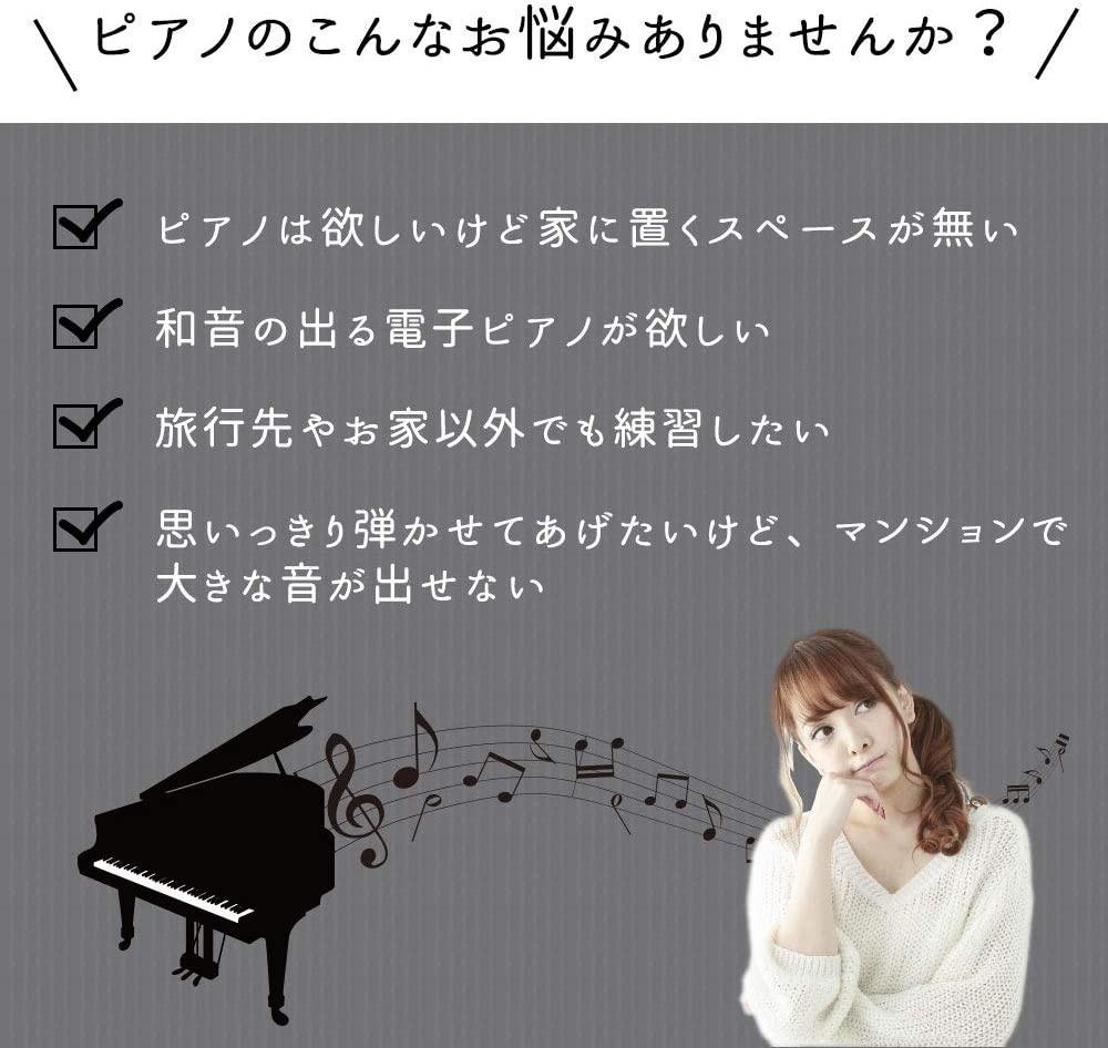 SMALY(スマリー) ロールアップピアノ 61鍵盤 SMALY-PIANO-61の商品画像3
