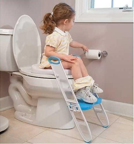 MOMMY'S HELPER(マミーズヘルパー) トイレトレーニング 補助便座 ステップ付 (折りたたみ式)の商品画像2