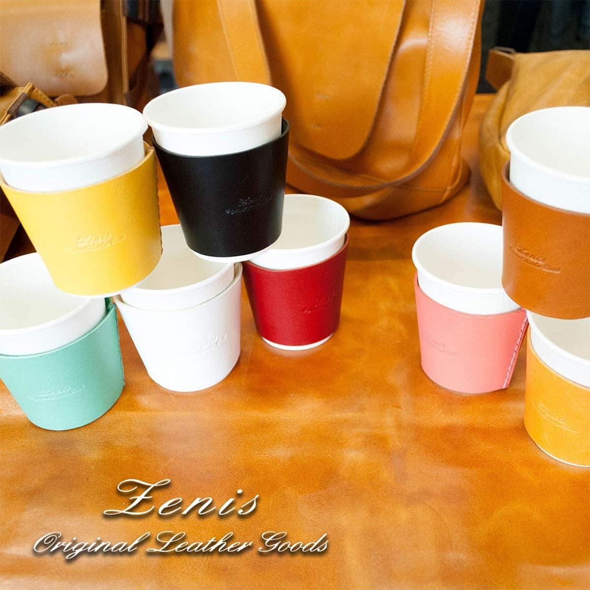 Zenis(ゼニス)ナチュラルレザー カップホルダー B-0127の商品画像8