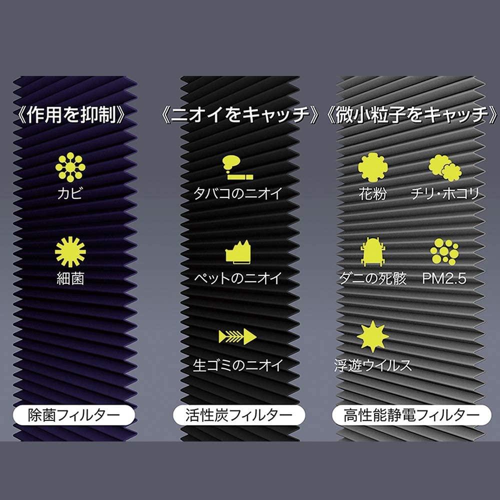 象印(ZOJIRUSHI) 空気清浄機 PU-AA50の商品画像3