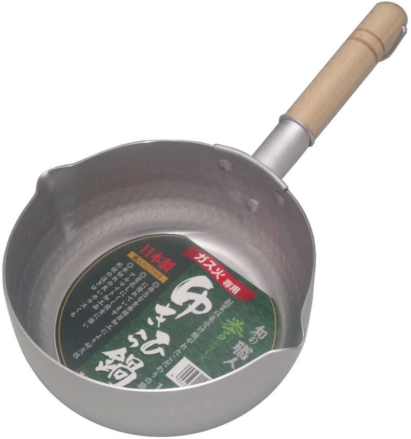 和の職人 谷口金属 日本製 和の職人 誉ゆきひら鍋 シルバー 16cmの商品画像