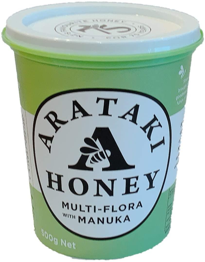 ARATAKI(アラタキ) マルチフローラウイズマヌカハチミツの商品画像
