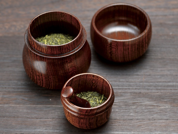 祖父江ジャパン お茶ミル付き茶筒の商品画像2