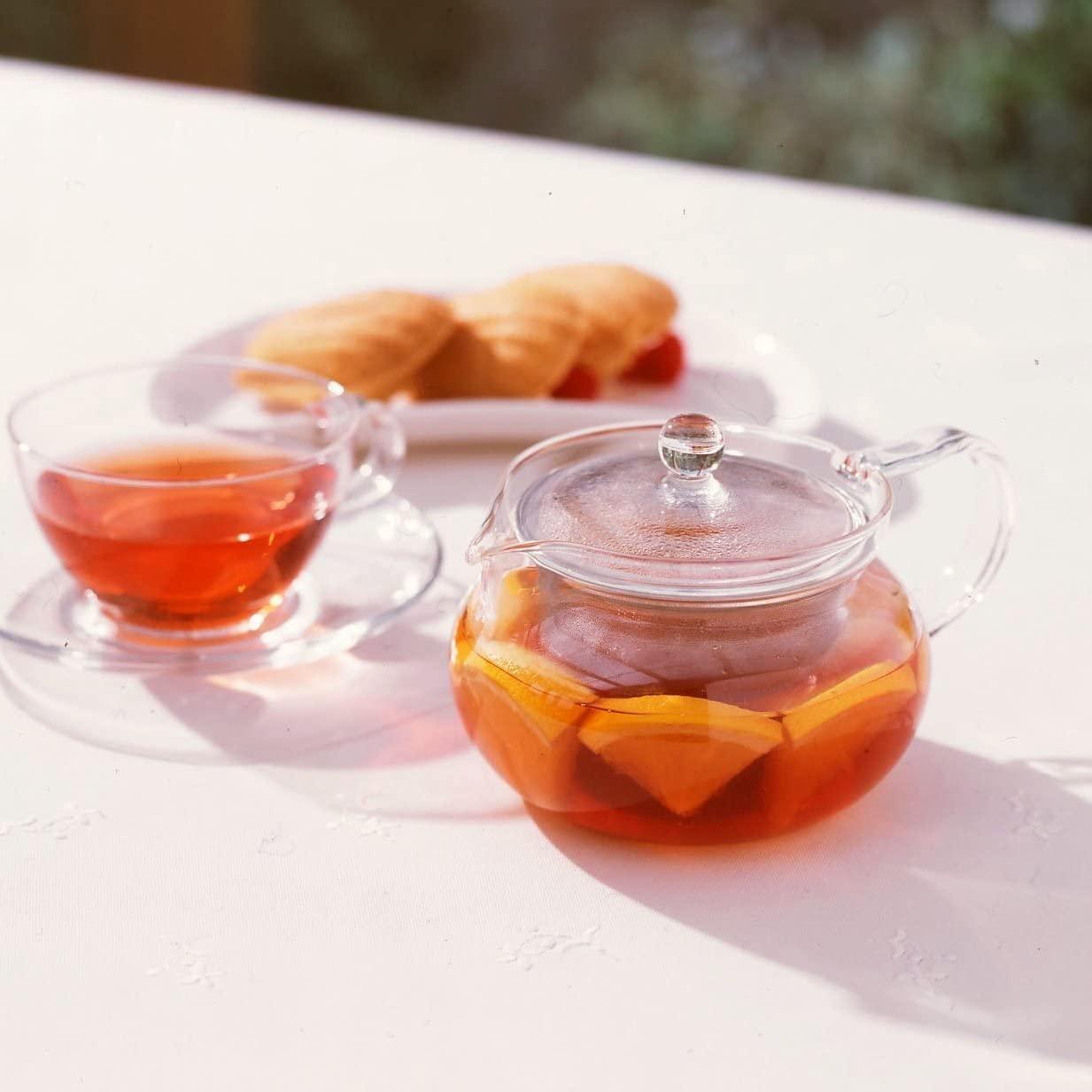 HARIO(ハリオ) 茶茶急須 丸 CHJMN-45T クリアの商品画像12