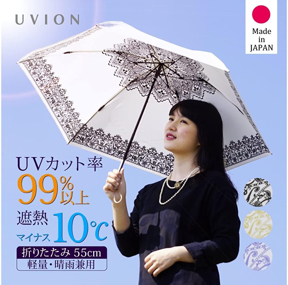 UVION(ユビオン) プレミアムホワイト レース柄の商品画像2