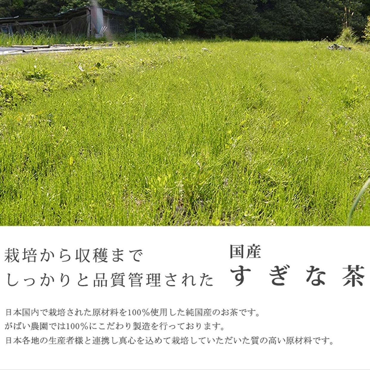 がばい農園 国産のすぎな茶の商品画像2