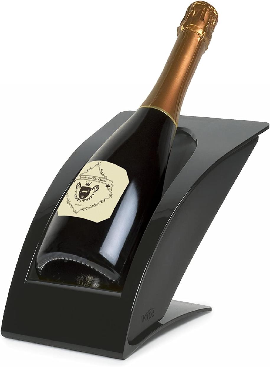 wICE(ワイス) ワイン・冷酒クーラー ブラック IMPGRBKの商品画像2