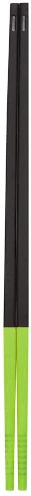 パール金属(PEARL) : H&B シリコーン チョップスティック ブラック×グリーン C-9342の商品画像